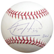 "Felix Hernandez Autographed Official MLB Baseball Seattle Mariners ""2010 AL CY"" PSA/DNA ITP #4A59725"