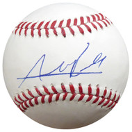 Addison Russell Autographed Official MLB Baseball Chicago Cubs PSA/DNA #AB86245