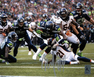 Marshawn Lynch Autographed 8x10 Photo Seattle Seahawks ML Holo Stock #130751
