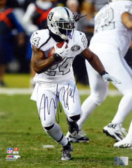 Marshawn Lynch Autographed 16x20 Photo Oakland Raiders ML Holo Stock #130760