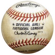 Unsigned Rawlings Official NL Charles Feeney Baseball SKU #131705