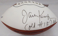 "Jack Kemp Autographed Football Buffalo Bills ""Old #15"" Beckett BAS #A77192"