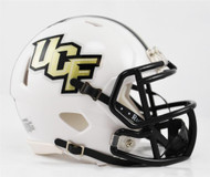 Unsigned UCF Central Florida Golden Knights White Speed Mini Helmet