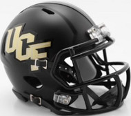 Unsigned UCF Central Florida Golden Knights Black Speed Mini Helmet