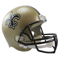 Unsigned New Orleans Saints Full Size Replica Helmet For Upcoming Drew Brees Signing on July 22nd