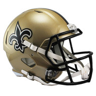 Unsigned New Orleans Saints Full Size Speed Replica Helmet For Upcoming Drew Brees Signing on July 22nd