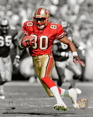 8x10 Photo #3 to be signed by Jerry Rice  **Requires Basic Autograph Ticket**