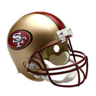 Unsigned San Francisco 49ers Throwback Full Size Helmet (1995-2008) To Be Signed By Jerry Rice