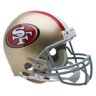 Unsigned San Francisco 49ers Throwback Full Size Authentic Proline Helmet (1964-1995) To Be Signed By Jerry Rice