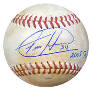 Felix Hernandez Autographed 2005 PCL Game Used Baseball Seattle Mariners PSA/DNA ITP #4A52848