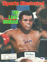 Muhammad Ali Autographed Sports Illustrated Magazine Cover PSA/DNA #S01619