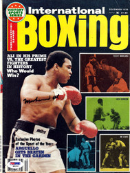 Muhammad Ali Autographed International Boxing Magazine Cover PSA/DNA #S01647