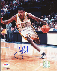 Jonathan Bender Autographed 8x10 Photo Indiana Pacers PSA/DNA #S25866