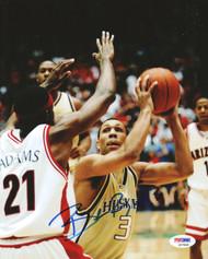 Brandon Roy Autographed 8x10 Photo Washington Huskies PSA/DNA #S27848