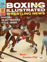 Floyd Patterson Autographed Boxing Illustrated Magazine Cover PSA/DNA #S28764