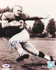 Yale Lary Autographed 8x10 Photo Detroit Lions PSA/DNA #S35517