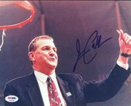 Jim Calhoun Autographed 8x10 Photo UConn Huskies PSA/DNA #S40055