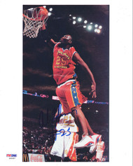 Al Jefferson Autographed 8x10 Photo McDonalds All American PSA/DNA #S40587