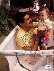 Alexis Arguello Autographed Magazine Page Photo PSA/DNA #S47436