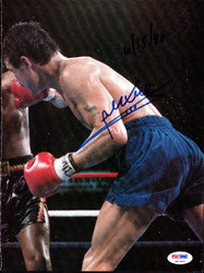 Alexis Arguello Autographed Magazine Page Photo PSA/DNA #S47443