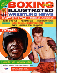 Joey Archer Autographed Boxing Illustrated Magazine Cover PSA/DNA #S47469
