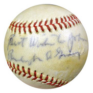 """Burleigh Grimes Autographed NL Baseball Dodgers, Cardinals """"To John, Best Wishes"""" PSA/DNA #S75256"""