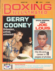 Gerry Cooney Autographed Boxing Illustrated Magazine Cover PSA/DNA #S42148