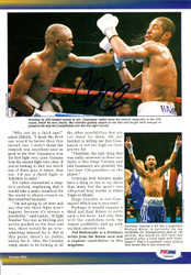 Diego Corrales Autographed Magazine Page Photo PSA/DNA #S48492
