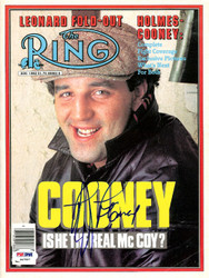 Gerry Cooney Autographed The Ring Magazine Cover PSA/DNA #S47507