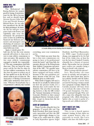 Diego Corrales Autographed Magazine Page Photo PSA/DNA #S47515