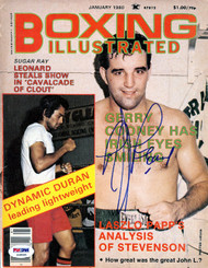 Gerry Cooney Autographed Boxing Illustrated Magazine Cover PSA/DNA #S48595