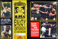 Mike Tyson Autographed Magazine Poster Photo Vintage PSA/DNA #T19804