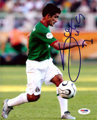 Zinha Autographed 8x10 Photo Mexico PSA/DNA #U54519