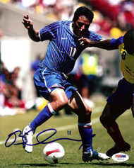 Brian Ching Autographed 8x10 Photo Dynamos PSA/DNA #U54545