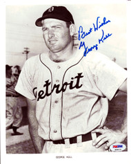 George Kell Autographed 8x10 Photo Detroit Tigers PSA/DNA #K08121