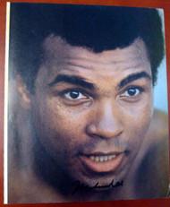 Muhammad Ali Autographed 9x11 Magazine Page Photo PSA/DNA #M52435