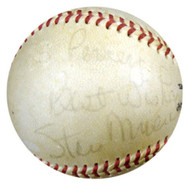 "Stan Musial Autographed NL Giles Baseball St. Louis Cardinals ""To Percey, Best Wishes"" PSA/DNA #P41776"