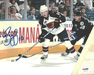 Bryan Little Autographed 8x10 Photo Atlanta Thrashers PSA/DNA #U96622