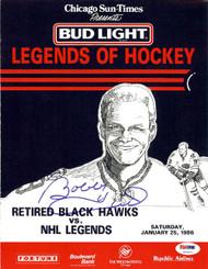Bobby Hull Autographed Magazine Page Photo Chicago Blackhawks PSA/DNA #U93671