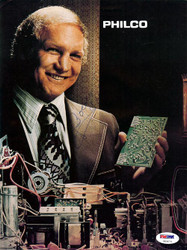 Bobby Hull Autographed Magazine Page Photo PSA/DNA #U93674