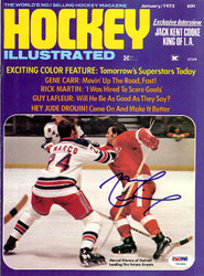 Marcel Dionne Autographed Hockey Illustrated Magazine Cover Detroit Red Wings PSA/DNA #U93889