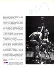 Bill Bradley Autographed Magazine Page Photo New York Knicks PSA/DNA #V57463