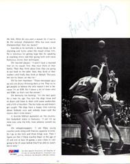 Bill Bradley Autographed Magazine Page Photo New York Knicks PSA/DNA #V57463