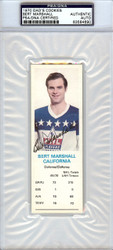 Bert Marshall Autographed 1970 Dad's Cookies Card California Golden Seals PSA/DNA #83584690