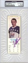 Jim Roberts Autographed 1970 Dad's Cookies Card St. Louis Blues PSA/DNA #83584698