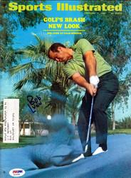 Bob Lunn Autographed Sports Illustrated Magazine PSA/DNA #X23293