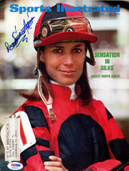Robyn Smith Astaire Autographed Sports Illustrated Magazine PSA/DNA #X23429