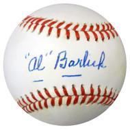 Al Barlick Autographed NL Baseball PSA/DNA #X23206