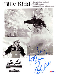 Billy Kidd Autographed 8.5x11 Photo PSA/DNA #X23435