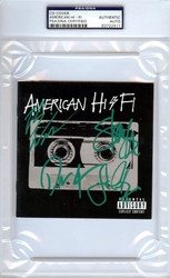 American Hi-Fi Autographed CD Cover PSA/DNA #83722411
